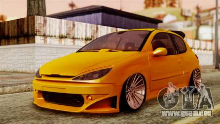 Peugeot 206 Camber Style für GTA San Andreas