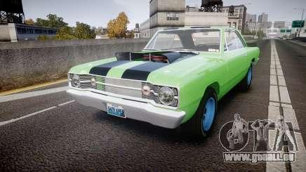 Dodge Dart HEMI Super Stock 1968 rims3 für GTA 4