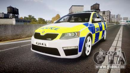 Skoda Octavia Combi vRS 2014 [ELS] Traffic Unit für GTA 4