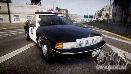 Chevrolet Caprice 1990 LCPD [ELS] Traffic pour GTA 4