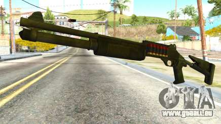 Shotgun from Global Ops: Commando Libya für GTA San Andreas