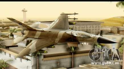 F-16 Fighter-Bomber Desert Camo für GTA San Andreas