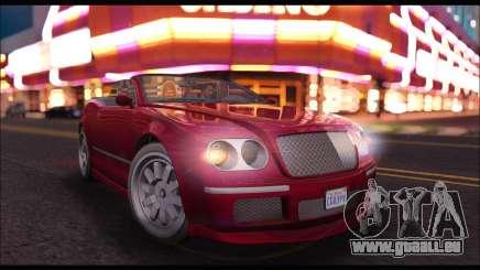 Enus Cognoscenti Cabrio (GTA V) pour GTA San Andreas