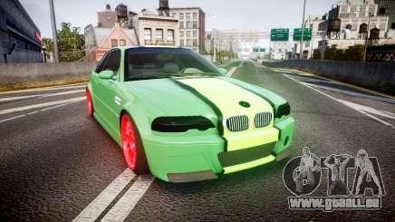 BMW M3 E46 Green Editon pour GTA 4