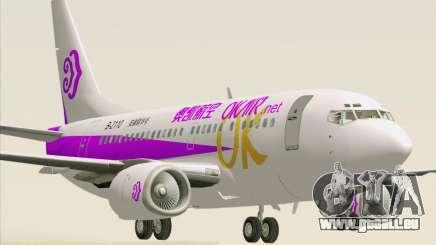 Boeing 737-500 Okay Airways pour GTA San Andreas