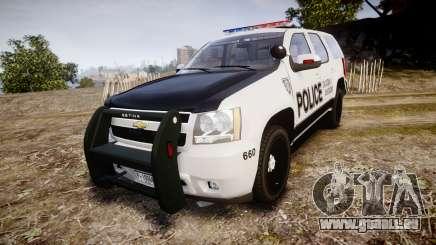 Chevrolet Tahoe 2010 Sheriff Dukes [ELS] pour GTA 4