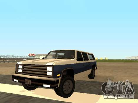 Rancher Four Door pour GTA San Andreas