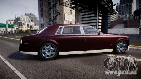Rolls-Royce Phantom EWB v3.0 pour GTA 4 est une gauche
