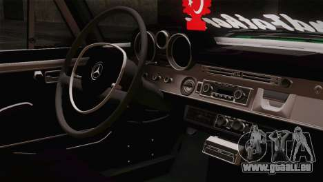 Mercedes-Benz 300 SEL DRY Garage pour GTA San Andreas vue arrière