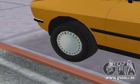 Renault 12 SW Taxi für GTA San Andreas obere Ansicht
