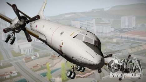 Lockheed P-3 Orion MLD New pour GTA San Andreas vue arrière