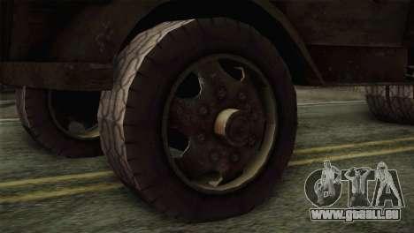 Opel Blitz (CoD: World at War) pour GTA San Andreas sur la vue arrière gauche