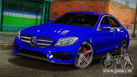 Mercedes-Benz C250 AMG Edition 2014 SA Plate pour GTA San Andreas