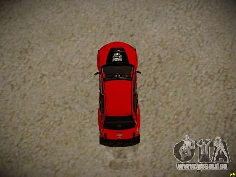 Mitsubishi Lancer Tokyo Drift für GTA San Andreas Rückansicht