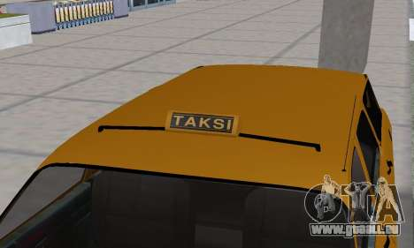 Renault 12 SW Taxi pour GTA San Andreas roue
