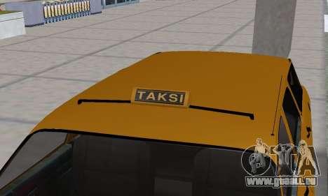 Renault 12 SW Taxi für GTA San Andreas Räder