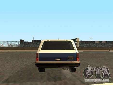 Rancher Four Door pour GTA San Andreas roue
