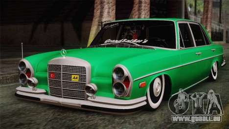 Mercedes-Benz 300 SEL DRY Garage pour GTA San Andreas