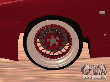 Nissan Skyline pour GTA San Andreas vue intérieure