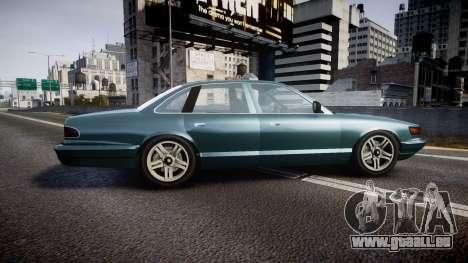 GTA V Vapid Stanier new wheels für GTA 4 linke Ansicht