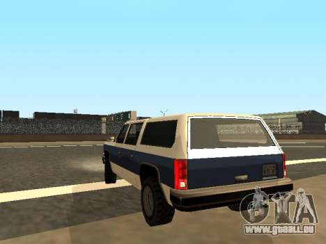 Rancher Four Door für GTA San Andreas linke Ansicht