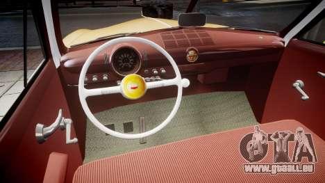 Ford Business 1949 v2.1 pour GTA 4 est une vue de l'intérieur