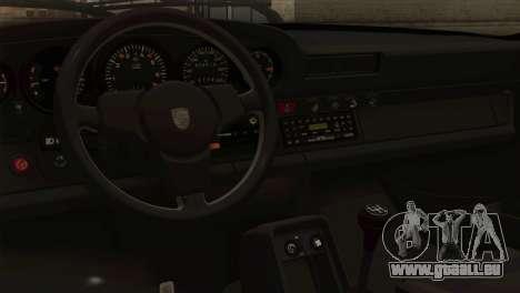 Porsche 911 Turbo 3.3L Coupe (930) 1981 für GTA San Andreas zurück linke Ansicht