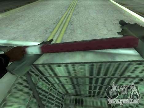 Shopping Cart pour GTA San Andreas sur la vue arrière gauche