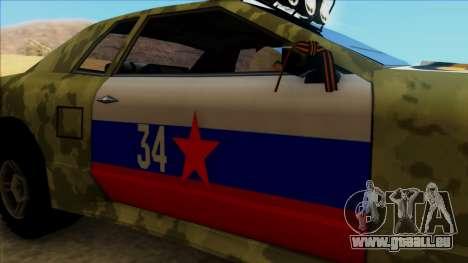 Elegy 23 February pour GTA San Andreas vue arrière
