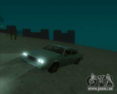 ENBSeries NEW Perfect Effects für GTA San Andreas dritten Screenshot