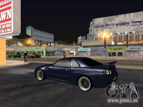 Nissan Skyline für GTA San Andreas Seitenansicht