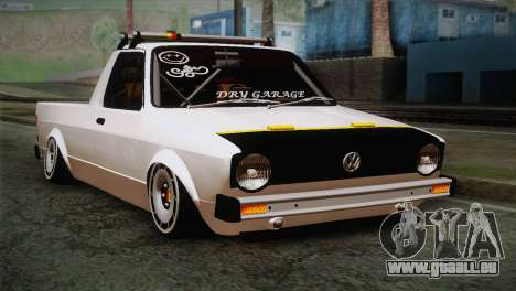 Volkswagen Caddy DRY Garage für GTA San Andreas
