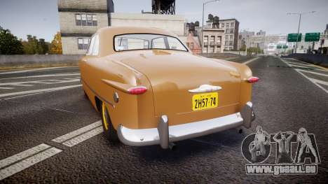 Ford Business 1949 v2.1 pour GTA 4 Vue arrière de la gauche