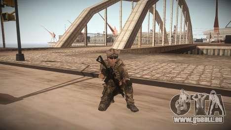 Animation de CoD MW3 pour GTA San Andreas deuxième écran