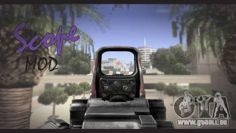 Sniper scope mod pour GTA San Andreas
