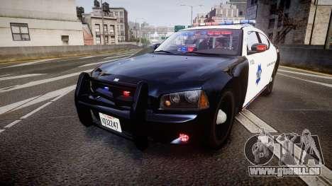 Dodge Charger 2010 LCPD K9 [ELS] für GTA 4