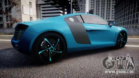 Audi R8 Tron Legacy [EPM] pour GTA 4 est une gauche