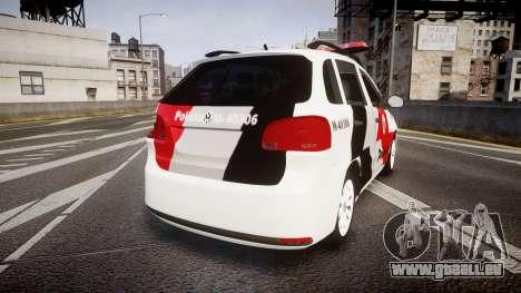 Volkswagen Suran PMESP [ELS] für GTA 4 hinten links Ansicht