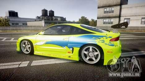 Mitsubishi Eclipse GSX 1995 Furious v3.0 für GTA 4 linke Ansicht