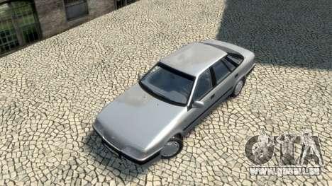 Daewoo Espero 1.5 GLX 1996 pour GTA 4 est une vue de dessous