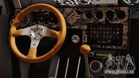 Volkswagen Caddy DRY Garage für GTA San Andreas rechten Ansicht