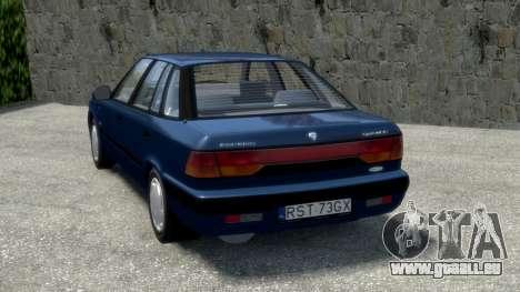 Daewoo Espero 1.5 GLX 1996 pour GTA 4 Vue arrière de la gauche