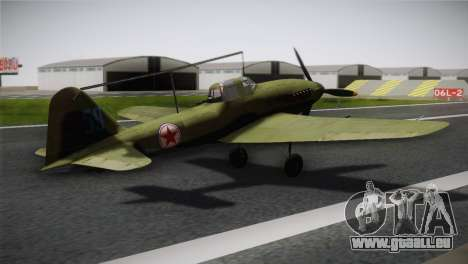 ИЛ-10 Korean Air Force pour GTA San Andreas laissé vue