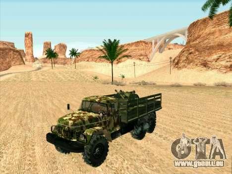 ZIL 131 Shaitan Arba für GTA San Andreas