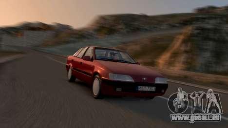 Daewoo Espero 1.5 GLX 1996 pour GTA 4 Salon