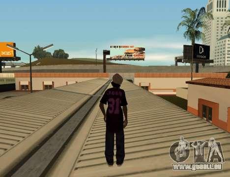 Cleo Slap pour GTA San Andreas troisième écran