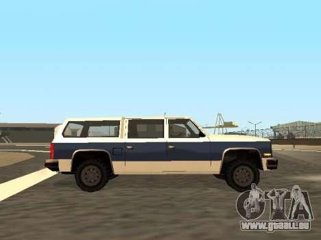 Rancher Four Door für GTA San Andreas obere Ansicht