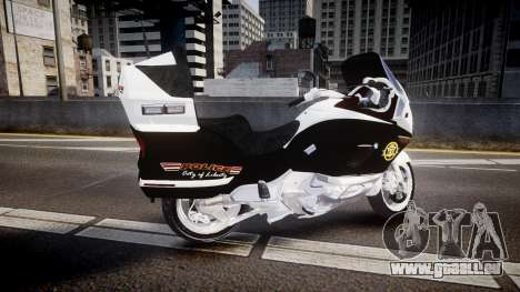 BMW K1200LT Police [ELS] für GTA 4 linke Ansicht