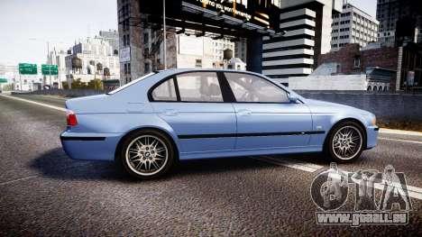 BMW M5 E39 stock für GTA 4 linke Ansicht