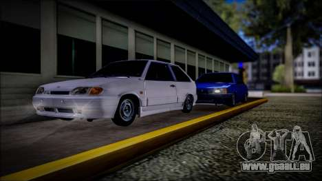 ENB pour les moyennes PC pour GTA San Andreas troisième écran